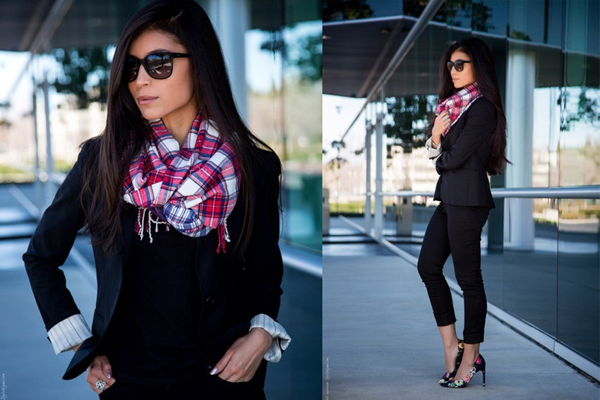 Gorgeous Outfits with Scarves for Every Occasion
