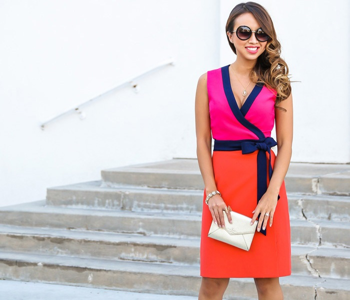 How to Style Your Wrap Dresses